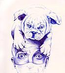 点击图片以查看大图  名称:dog and faceqq.jpg 查看次数:256 文件大小:525.6 KB ID:60520